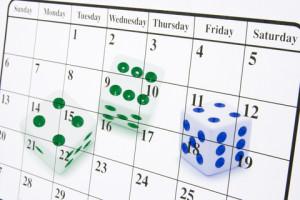 calendar-dice
